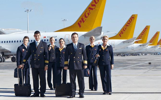Авиакомпания Пегасус Pegasus фото