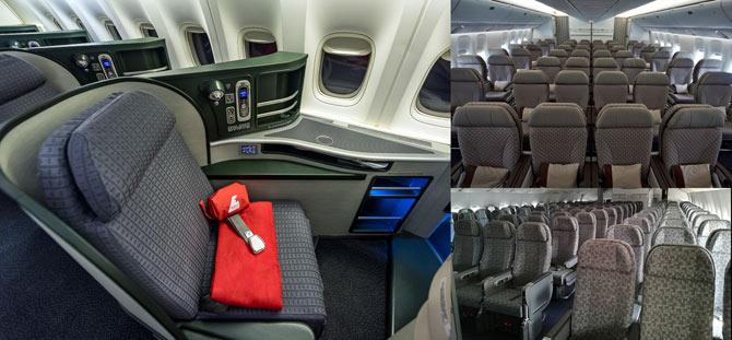 Boeing-777-300ER фото салона