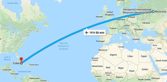 Прямой рейс Москва-Гавана