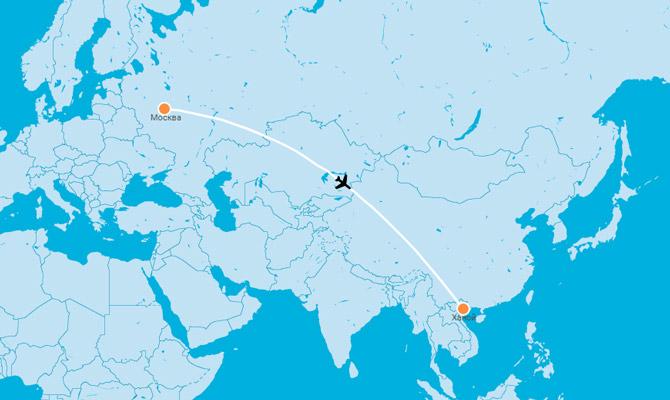 Прямые рейсы из Москвы во Вьетнам