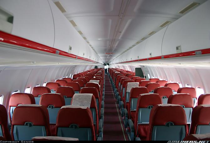 Ту-204 фото салон