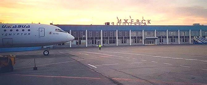 Ижевск аэропорт фото