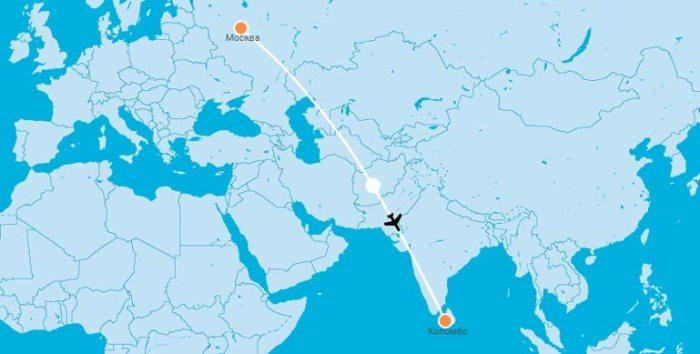 Дубай шри ланка сколько лететь купить дом в европе недорого