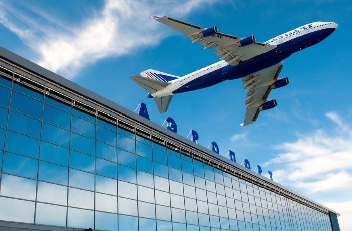 Вылет из аэропорта России