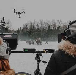 Квадрокоптер для кино и ТВ съемки
