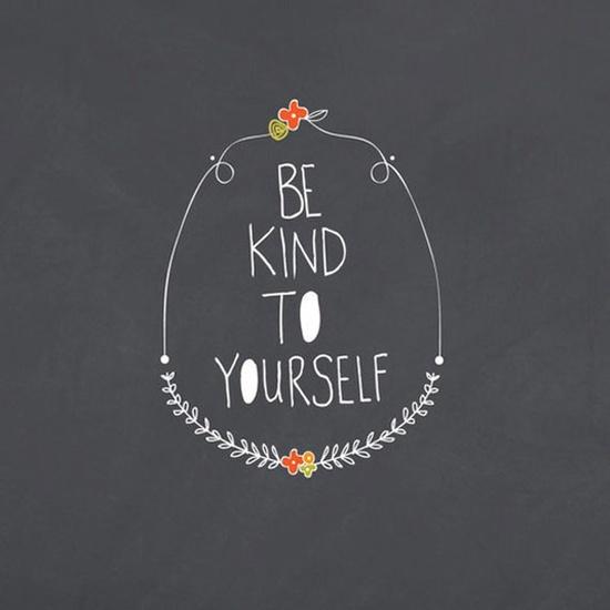 Be kind to yourself #inspiration #guiltfree {PilotingPaperAirplanes.com}