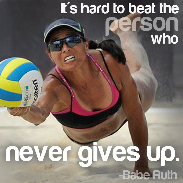 Never gives up #courage #motivation #inspiration #run {PilotingPaperAirplanes.com}