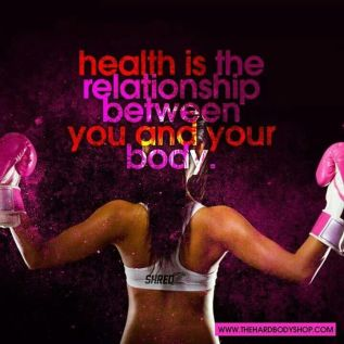 Health is the relationship between you and your body #run #fitness #motivation #inspiration {PilotingPaperAirplanes}
