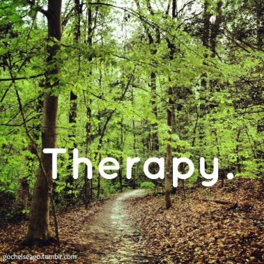 Therapy. #run #running #trail #motivation #inspiration #fitness #health {PilotingPaperAirplanes.com}