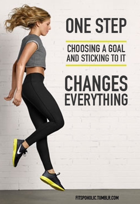 One step changes everything. #motivation #inspiration #health #fitness