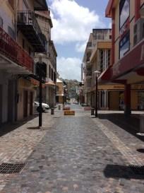 Fort de France, Martinique, Pedestrian Rue