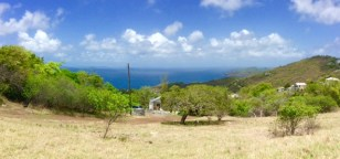 Bequia, looking out over Mustique, Petit Mustique and Union Island
