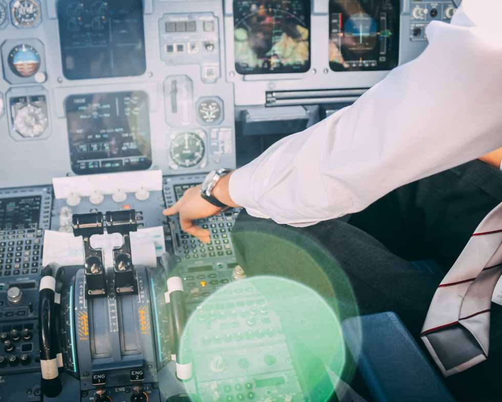 control display unit Airbus A320