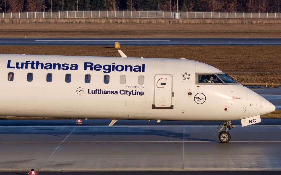 Lufthansa Cityline CRJ900