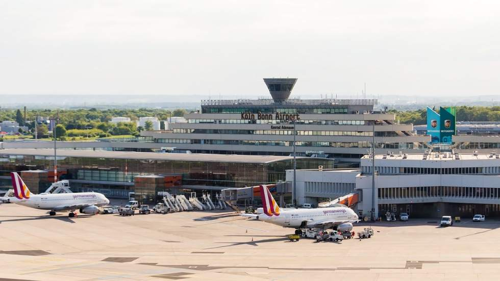 Terminal 1 of Cologne Bonn Airport