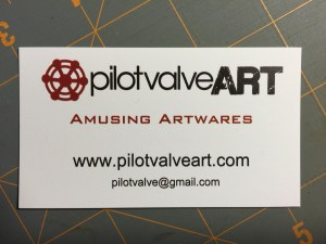 "Business card with ""Art"""