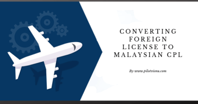 Converting Foreign License To Malaysian CPL – FAA 2019