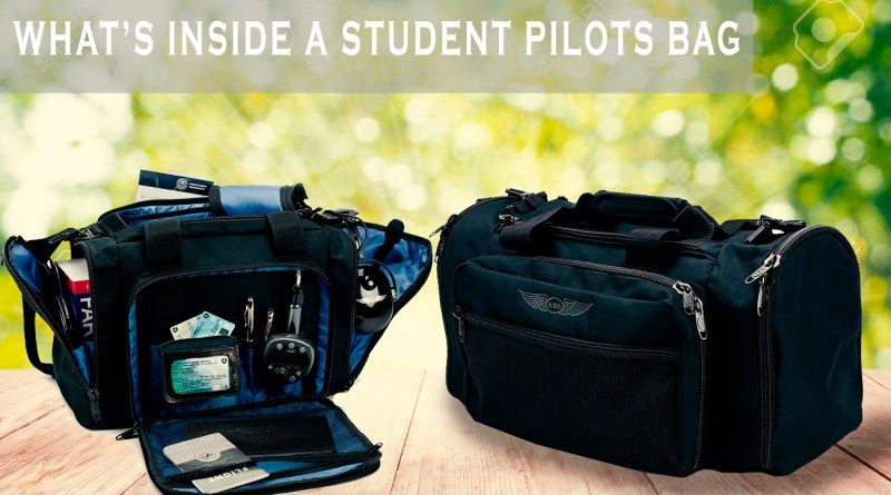 Student Pilot Reveals Whats In Their Bags