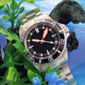 Custom 30ATM Diver Watch Submariner PLOPROF Sapphire Ceramic Bezel