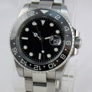 Custom 40mm Diver GMT Sub Ceramic Bezel