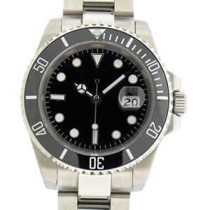 Custom Divers Watch 40mm Sub Model w/ Cermaic Bezel - 2.5 magnification