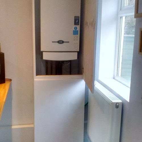 Boiler Cabinet