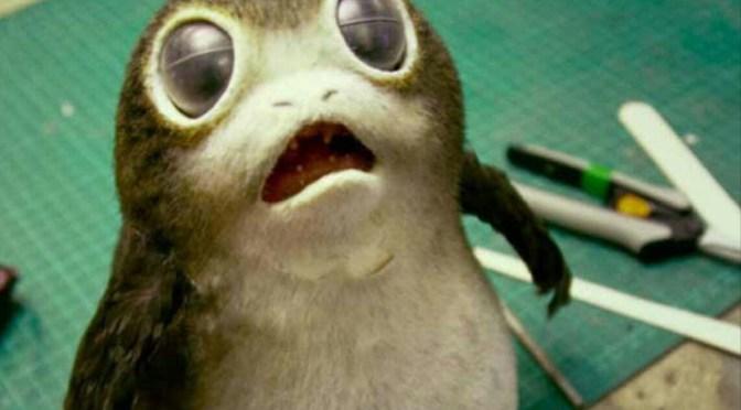 Así son los porgs, las nuevas criaturas de 'Star Wars'.