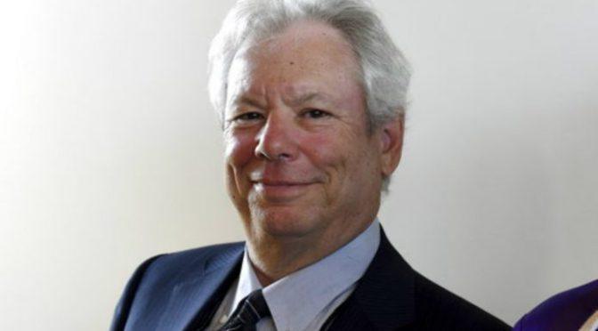 Otorgan a Richard H. Thaler Premio Nobel de Economía