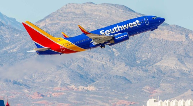 Southwest declina utilizar slots en AICM para 2018
