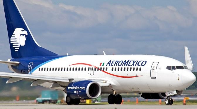 Aeroméxico, con pérdida de 2 mil 369 mdp en 2019