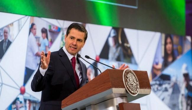 Gobierno federal trabaja para garantizar derechos de niñez: Peña Nieto