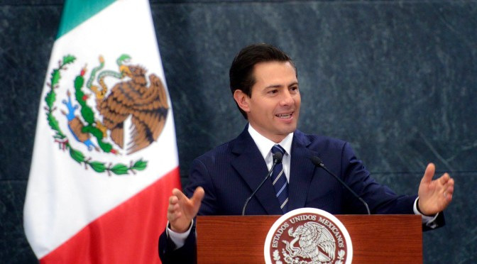 Respalda EPN exigencia de Trump para celebrar Mundial 2026 en México, EU y Canadá