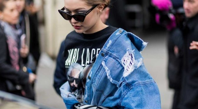 La chamarra favorita de Gigi Hadid es de H&M y tú también puedes tenerla.