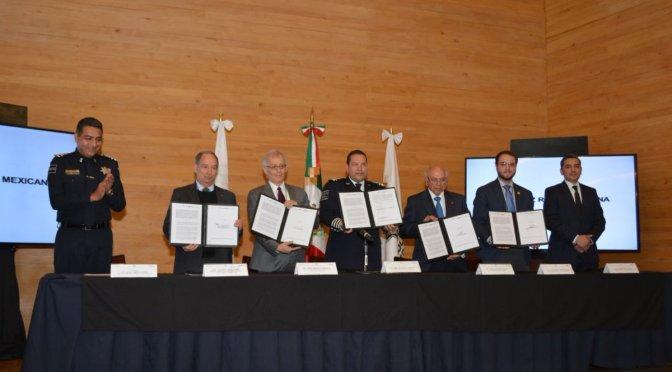 Policía Federal y Fundación Slim colaborarán para prevenir accidentes