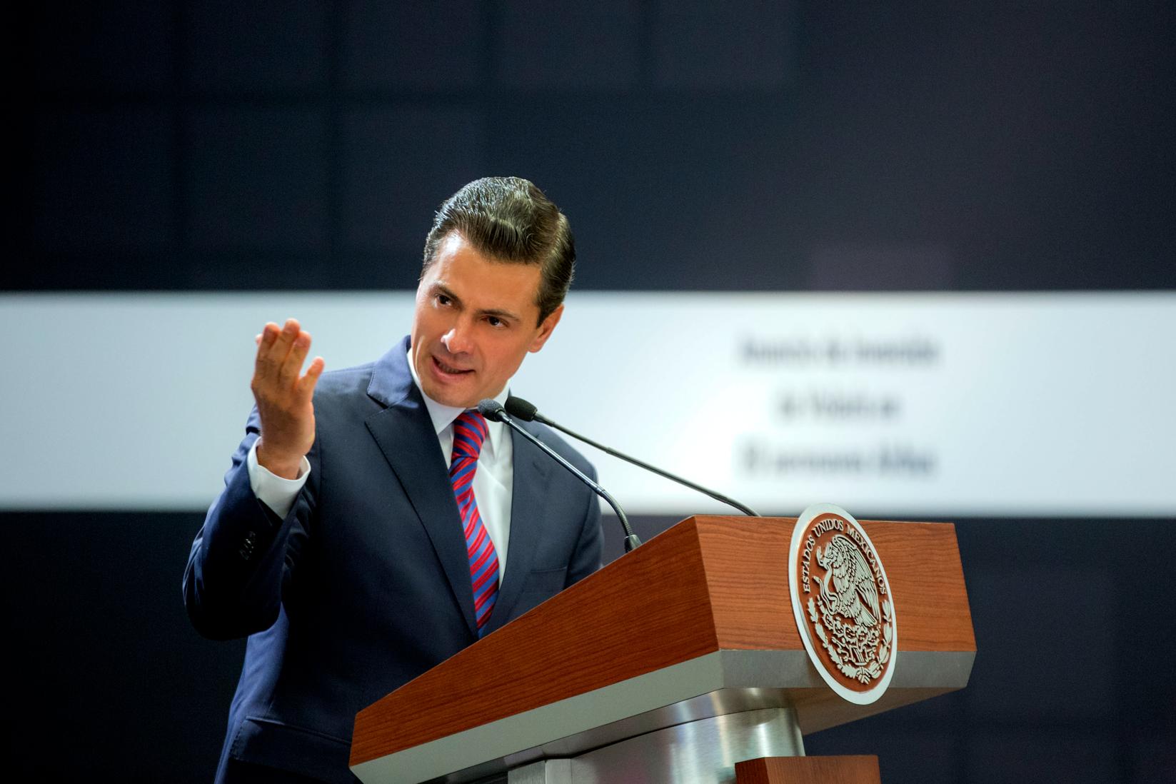 Dinámica de generación de empleos se mantiene: Peña Nieto