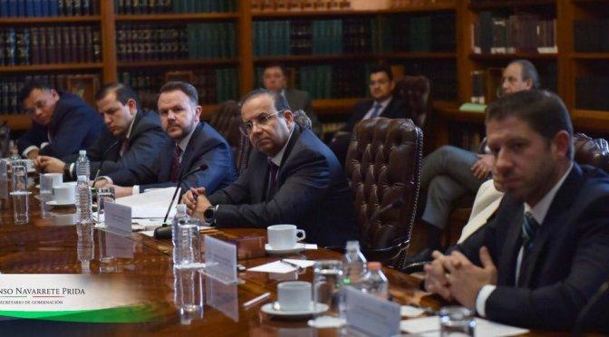 Navarrete Prida y gobernadores del PRI dialogan sobre seguridad y gobernabilidad