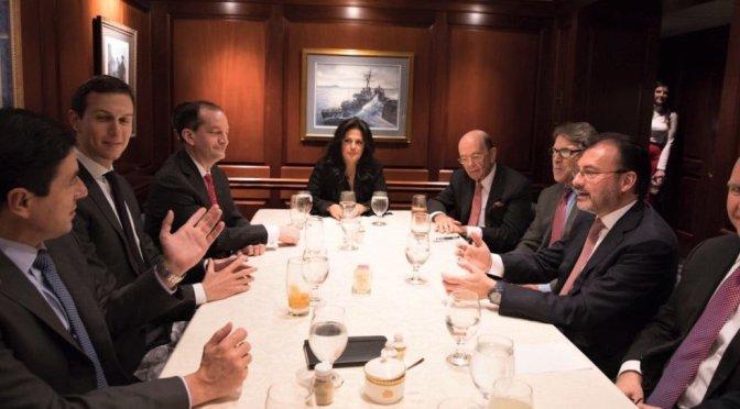 Encuentros con Kushner siempre fueron profesionales, aclara SRE