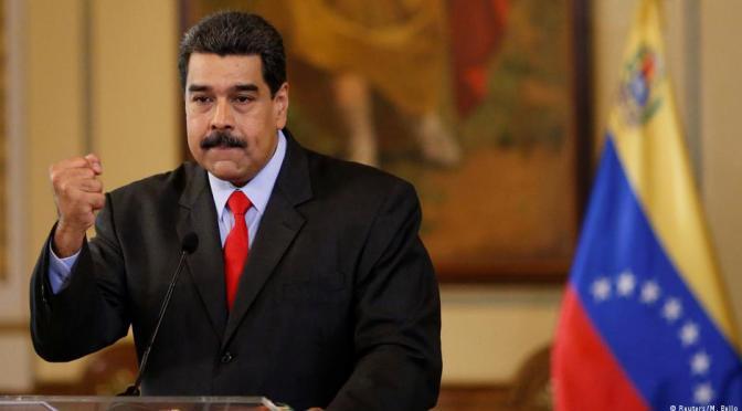 """Maduro dice estar """"más fuerte que nunca"""" para buscar reelección"""