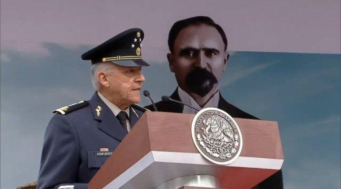 Ejército no pidió Ley de Seguridad Interior, pidió marco legal: Cienfuegos