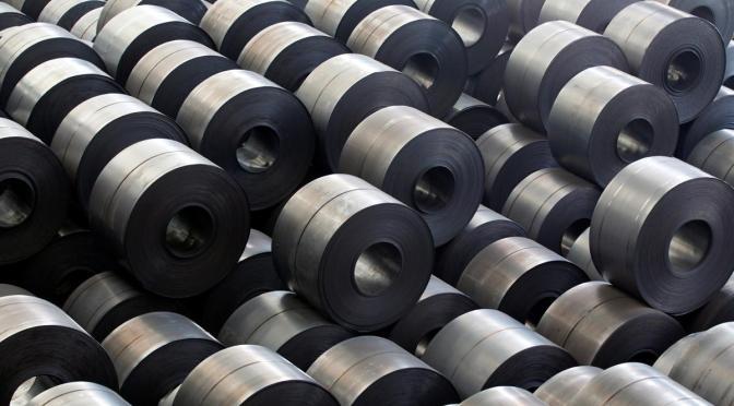 Estados Unidos pide para región T-MEC producción total de acero