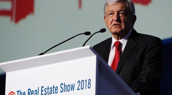 López Obrador descarta la reelección de ganar la contienda electoral