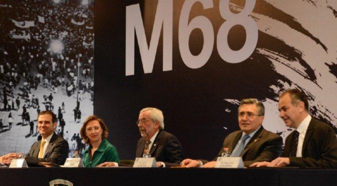 UNAM presenta programa conmemorativo por 50 años del movimiento del 68