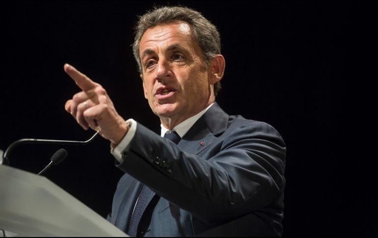 Inculpan a Nicolas Sarkozy por financiamiento ilegal