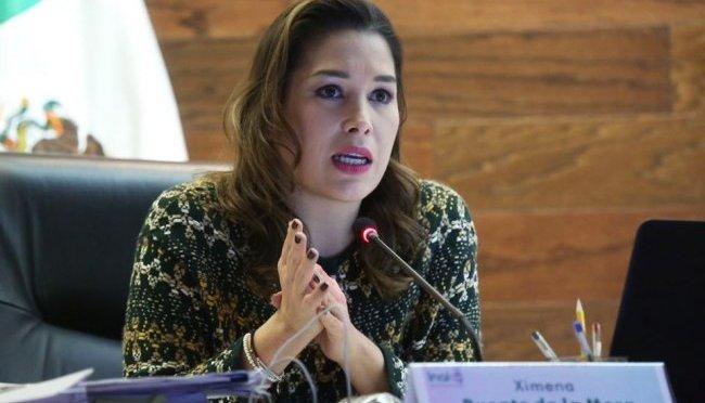 Ximena Puente de la Mora presenta su renuncia como comisionada del INAI