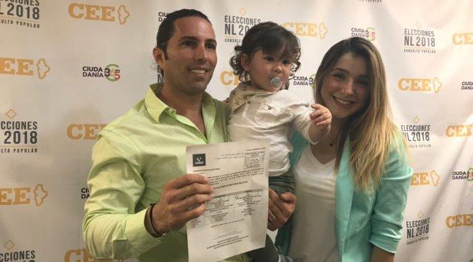 Partido Verde registra a De Nigris como candidato a diputado local en Monterrey