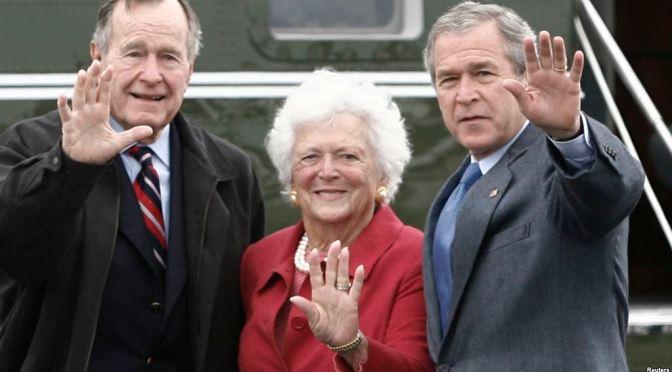 MuereBárbara Bush,exprimera dama de Estados Unidos