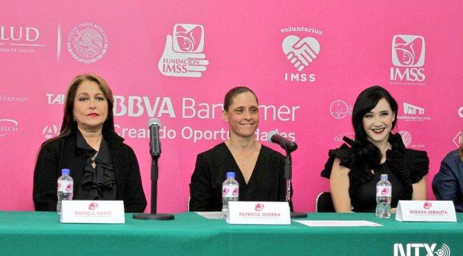 """Artistas y Fundación IMSS invitan a la cumbre """"Mi lucha es rosa"""""""