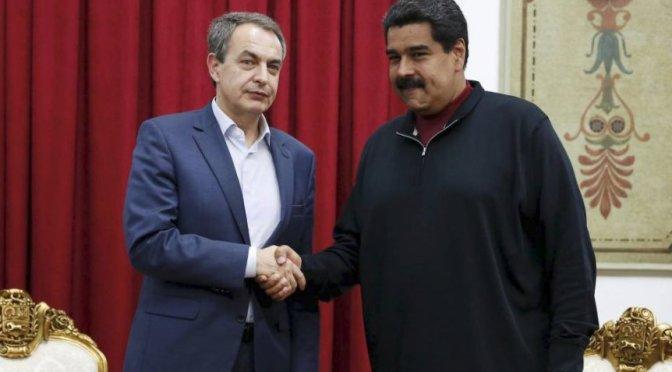 Venezolanos exiliados declaran non grato a Rodríguez Zapatero