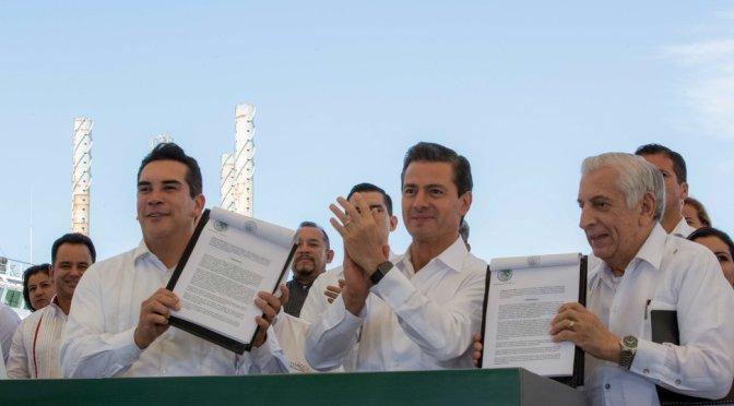 Peña Nieto anuncia bolsa de 50 mil mdp para Zonas Económicas Especiales