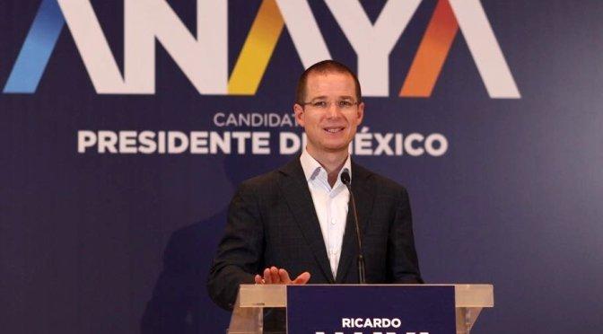 Ricardo Anaya resalta virtudes de sus cuatro adversarios políticos